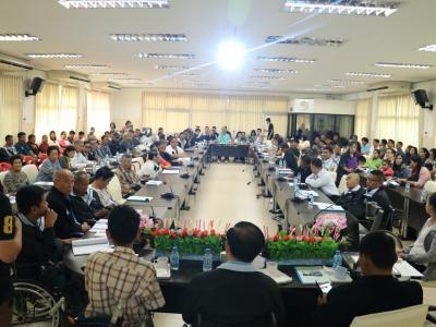 การประชุมใหญ่สามัญประจำปี 2560 ของสมาคมส่งเสริมอาชีพคนพิการ